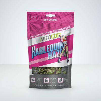 Harlequin haze viracan CBD buds