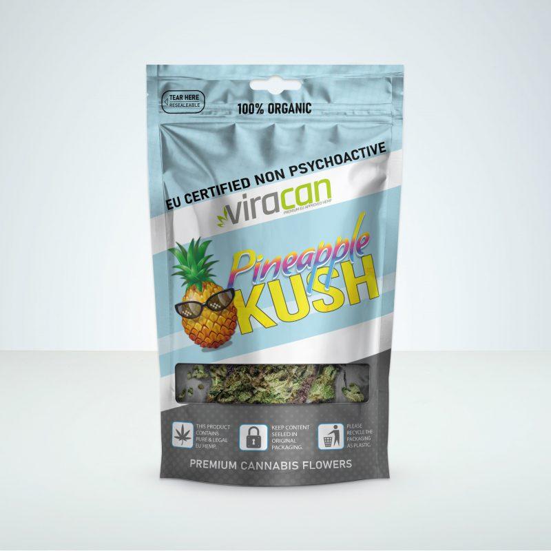 Pineapple kush Viracan cbd wholesale