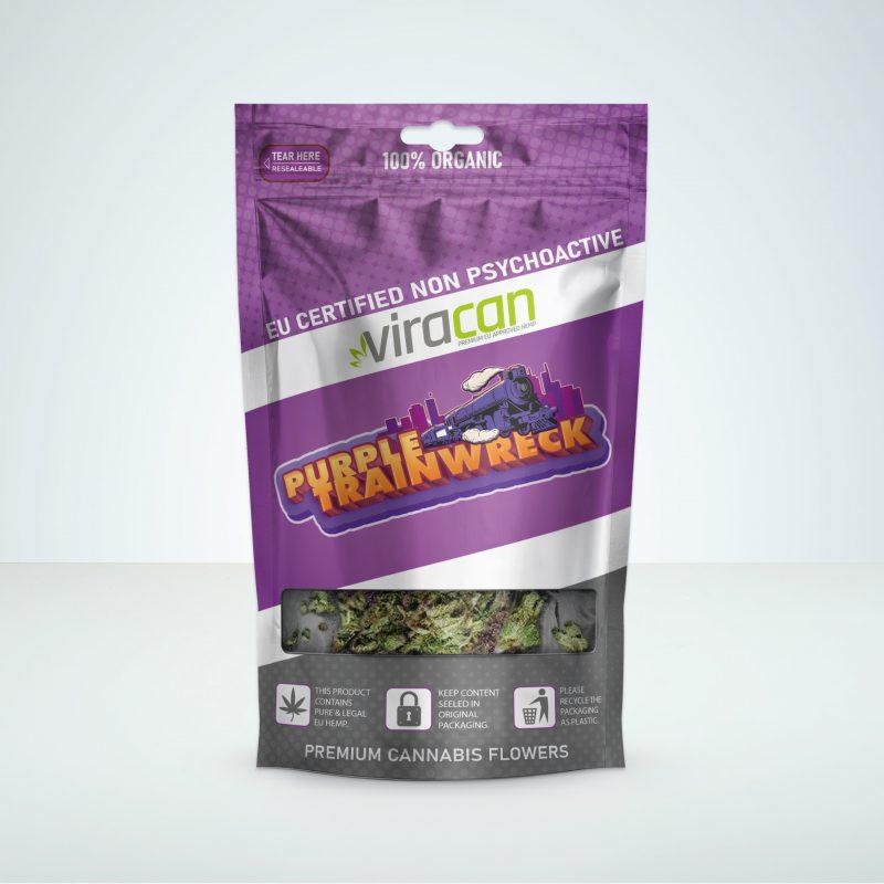 CBD wholesale cannabis viracan purple trainwreck